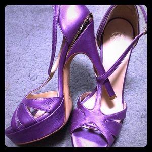 Versace 4 inch heels